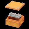 Коробка стальная FS с кабельными вводами иклеммниками,IP55,150х150х80мм,6р,450V,32A,10мм.кв, нерж.контакт, FSK31610, ДКС