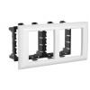 Рамка-суппорт Avanti для In-liner Front, белый, 4 модуля, 4400914, ДКС