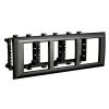 Рамка-суппорт Avanti для In-liner Front, черный, 6 модулей, 4402916, ДКС