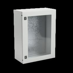 Корпус ST с прозрачной дверью и с М/П Размер: 400 x 400 x 200 мм (В х Ш х Г), R5STX0442, ДКС