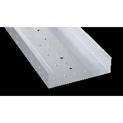 Лоток перфорированный 100х80х3000, 0,8 мм, AISI 304, ISL810C, ДКС