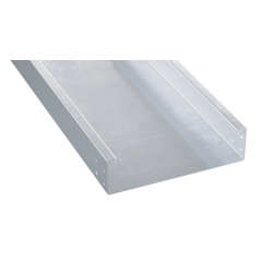 Лоток неперфорированный 600х100х3000, 1,5 мм, AISI 304, INM1060C, ДКС