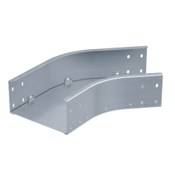 Угол горизонтальный 45°, 400х80, 1,5 мм, AISI 304, ISCM840KC, ДКС
