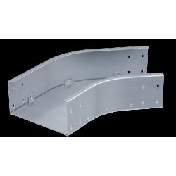 Угол горизонтальный 45°, 450х80, 1,5 мм, AISI 304, ISCM845KC, ДКС