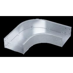 Угол горизонтальный 90°, 500х80, 0,8 мм, AISI 304, ISDL850KC, ДКС