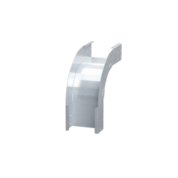 Угол вертикальный внешний 90°, 400х80, 1,5 мм, AISI 316L, ISOM830K, ДКС