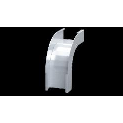Угол вертикальный внешний 90°, 600х80, 0,8 мм, AISI 304, ISOL850KC, ДКС