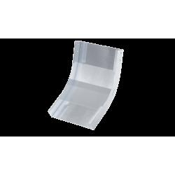 Угол вертикальный внутренний 45°, 500х80, 0,8 мм, AISI 304, ISKL845KC, ДКС