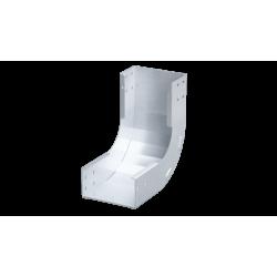 Угол вертикальный внутренний 45°, 200х80, 1,5 мм, AISI 304, ISKM815KC, ДКС