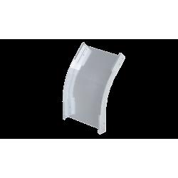 Угол вертикальный внешний 45°, 500х80, 0,8 мм, AISI 304, ISPL845KC, ДКС