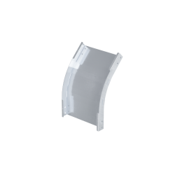 Угол вертикальный внешний 45°, 500х50, 1,5 мм, AISI 304, ISPM545KC, ДКС