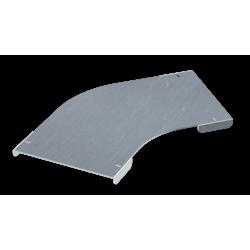 Крышка на угол горизонтальный 45°, осн. 75, толщ. 0,8 мм, AISI 304, IKSCL075C, ДКС