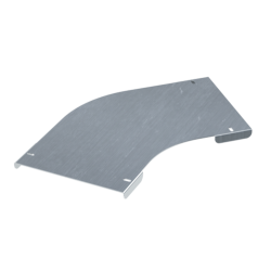 Крышка на угол горизонтальный 45°, осн. 300, толщ. 0,8 мм, AISI 304, IKSCL300C, ДКС