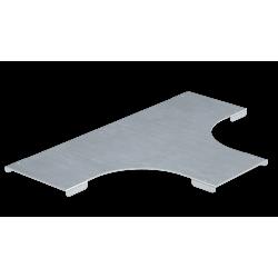 Крышка на Т-образный ответвитель, осн. 100, толщ. 0,8 мм, AISI 304, IKSTL100C, ДКС