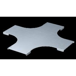 Крышка на Х-образный ответвитель, осн. 75, толщ. 0,8 мм, AISI 304, IKSXL075C, ДКС