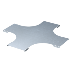 Крышка на Х-образный ответвитель, осн. 600, толщ. 0,8 мм, AISI 304, IKSXL600C, ДКС