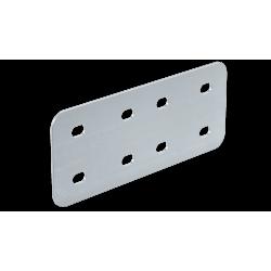 Соединитель горизонтальный, H100, нерж. сталь AISI 304, IGH10C, ДКС