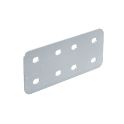 Угловой соединитель, H100, нерж. сталь AISI 316L, IHH10, ДКС