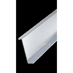 Перегородка листового лотка, H80, нерж. сталь AISI 316L, ISPH80, ДКС