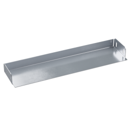 Заглушка для лотка, 150х100, нерж. сталь AISI 304, IZH1015C, ДКС