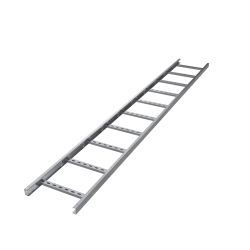 Лоток лестничный, 50х800, L 3000, лонжерон 1,5 мм, AISI 304, ILM3580C, ДКС