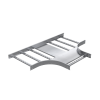Ответвитель Т-образный, 80х400, R300, 1,5 мм, AISI 316L, ILTM3840, ДКС