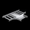 Ответвитель Т-образный, 80х450, R600, 1,5 мм, AISI 304, ILTM6845C, ДКС