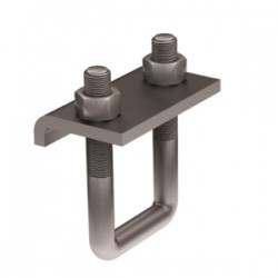 Крепеж к металлическим балкам IBMH-10, L 120 мм, AISI 304, IBMH2010C, ДКС