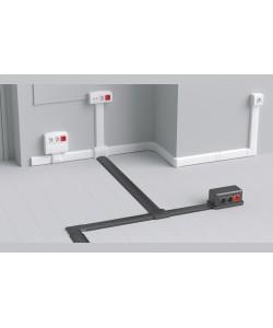 Система напольных кабельных коробов