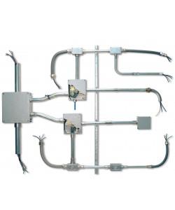 Stilma. Система металлических труб